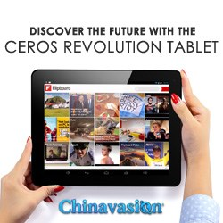 Ceros Revolution Tablet Black