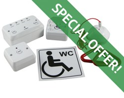 Special Offer on Disabled Toilet Alarm at Discount Fire Supplies