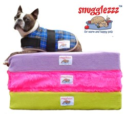 snugglezzz offers high quality memory foam dog beds and dog coats