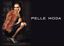 Model is wearing a Pelle Moda bootie from the Fall 2013 collection.