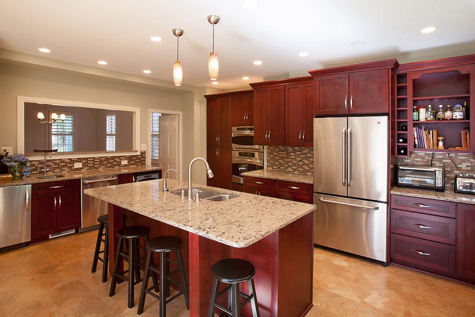 Kitchen Home Addition Makes Dream Kitchen Possible for DC Film Maker ...