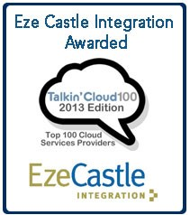 Eze Castle Joins Talkin' Cloud 100 Logo
