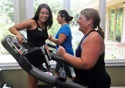 fitness director at hilton head health
