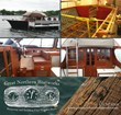 Snapshots of the process, the interior detailing and Rockin' Robyn dockside.