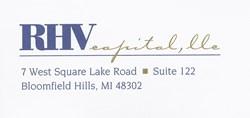 RHV Capital Bloomfield Hills, Michigan