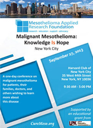 NYC Mesothelioma Conference