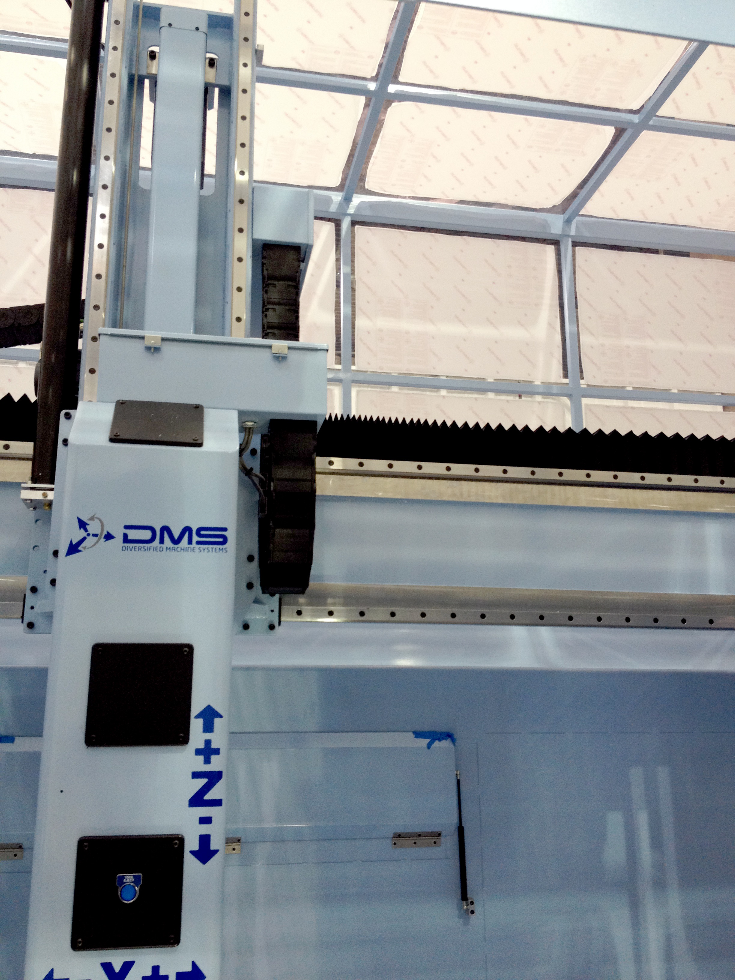 Diversified Machine Systems (DMS) to Feature the Enclosed 5 Axis DMS ...