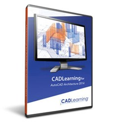 CADLearning for AutoCAD Architecture 2014 Packaging