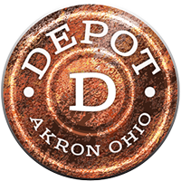 The Depot at Akron Logo