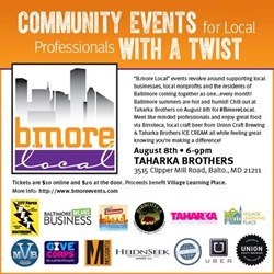 #BmoreLocal at Taharka Brothers Benefiting Village Learning Place