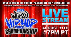 Hip Hop International, Live Stream, Paywall, Dance Competition