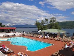 Georgian Resort Patio and Cabana Bar