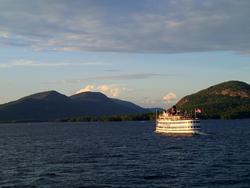 Lake George and The Georgian Lakeside Resort