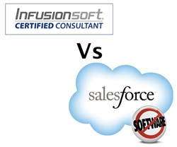 Salesforce vs Infusionsoft is a topic of great concern for small businesses looking for the right sales and marketing automation platform.