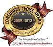 2009-2012 consecutive award year winner