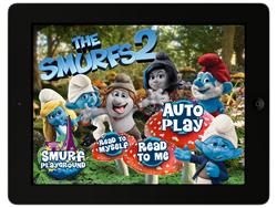 The Smurfs 2 Storybook App
