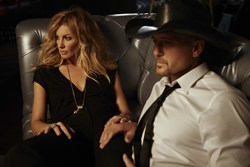 Tim McGraw and Faith Hill at Venetian Las Vegas