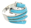 Silver Turquoise Rings Become Popular Modern Trend, According to New...