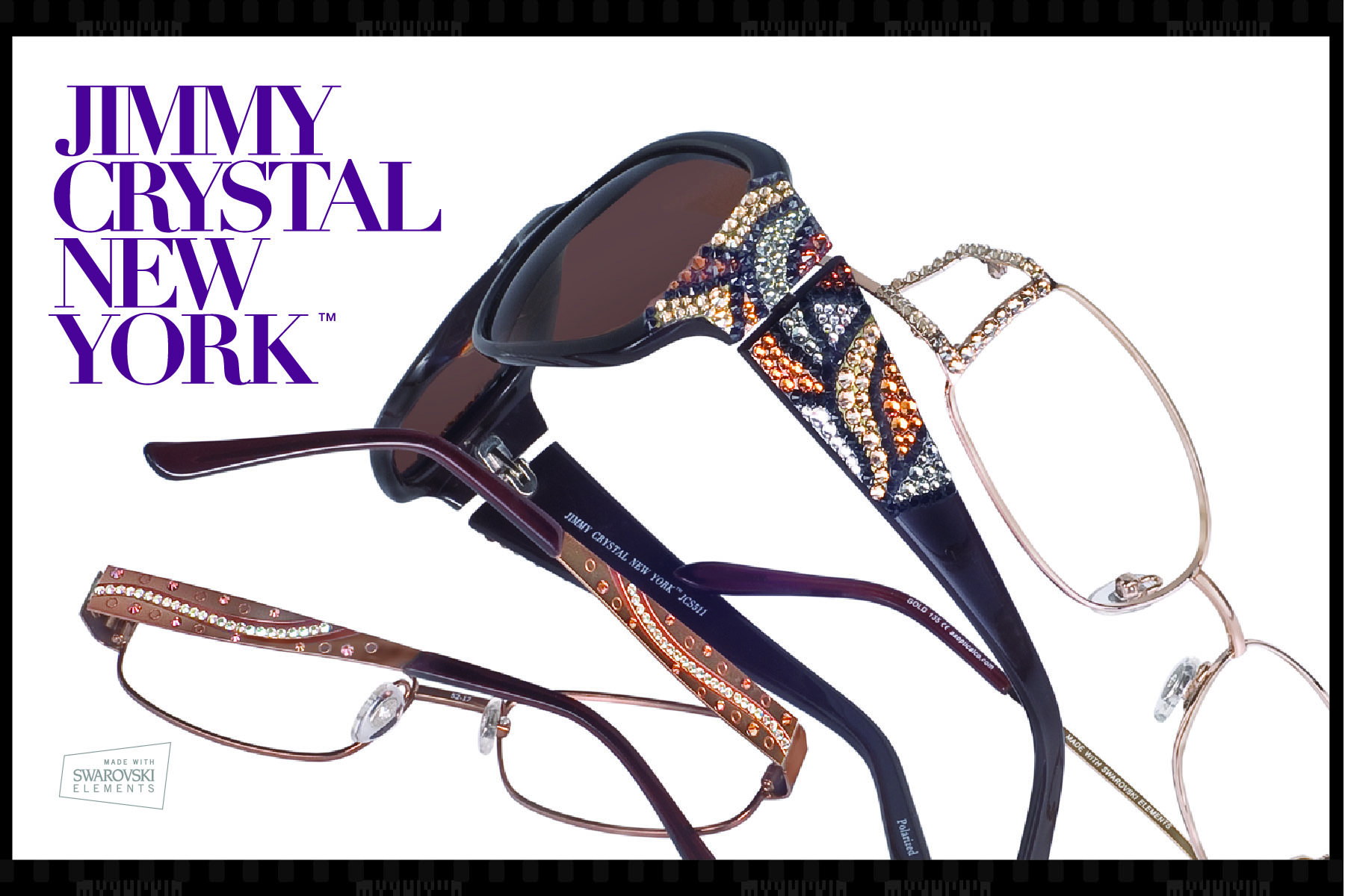 New Dazzling Eyewear And Sunglasses From Jimmy Crystal New