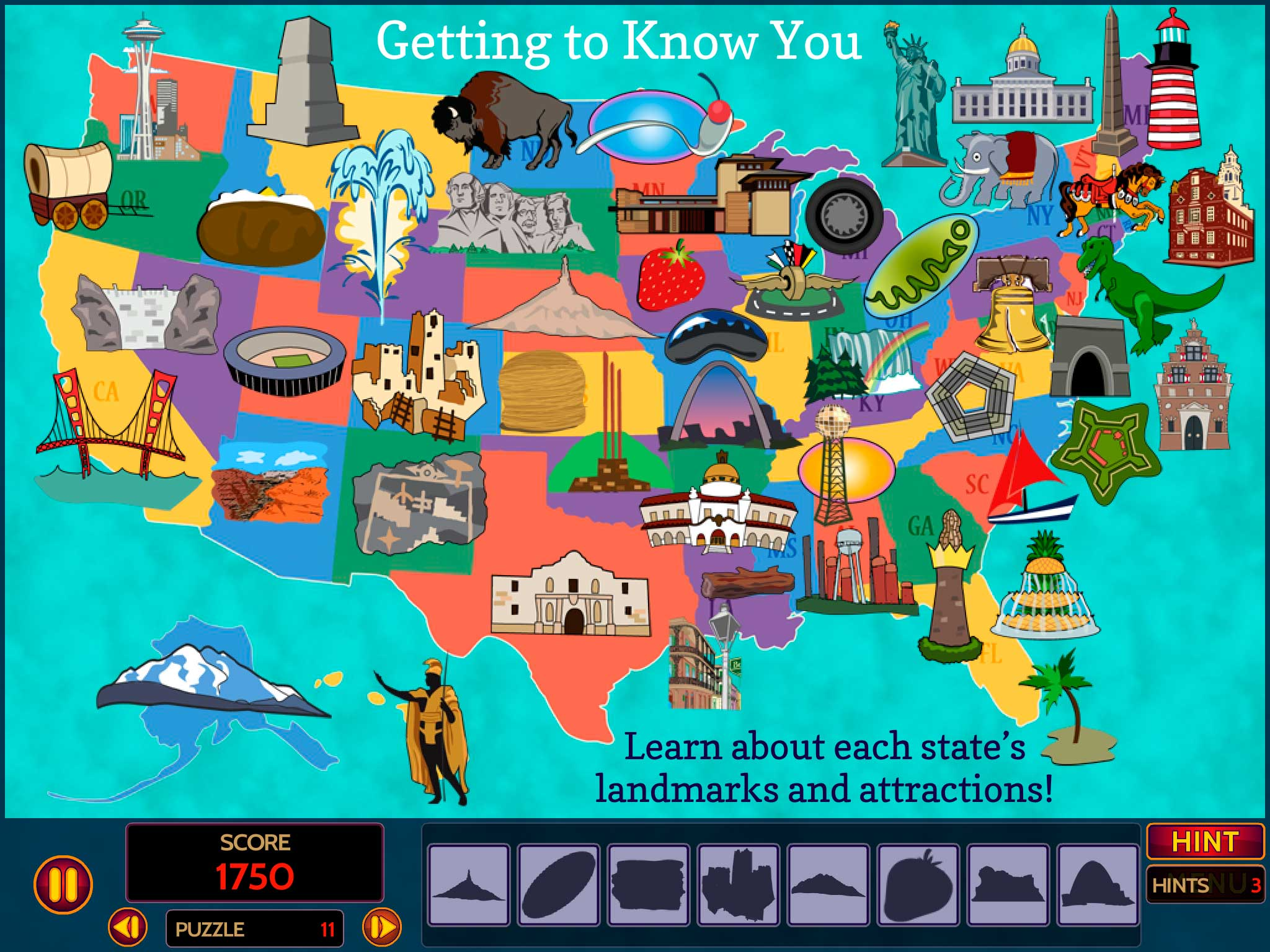 Learn Fun Facts About U S Landmarksgeoseeker Usa Screens