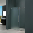 "Vigo VG6041CHMT4874R 48-inch Frameless Shower Door 3/8"" Frosted/Chrome Hardware Right"