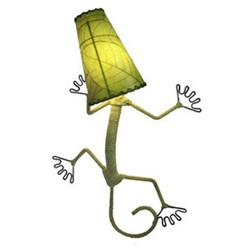 Eangee Gecko Wall Lamp