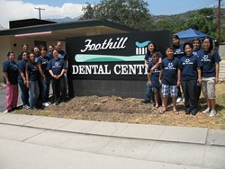 The friendly staff at Foothill Dental Center