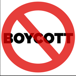 Discouraging unethical Internet advertising through boycotts