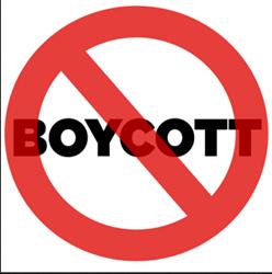Discouraging unethical Internet advertising through boycotts