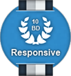 10 Best Responsive Web Design Firms Badge