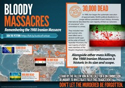 Iran, NCRI, Maryam Rajavi, 1988 Massacre in Iran, Iranian Regime, United Nations