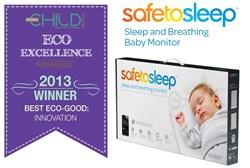 SafeToSleep Sleep and Breathing Baby Monitor