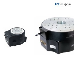 High-end rotary stage, air bearings, compact