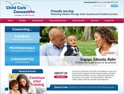 Child Care Connection Web Design