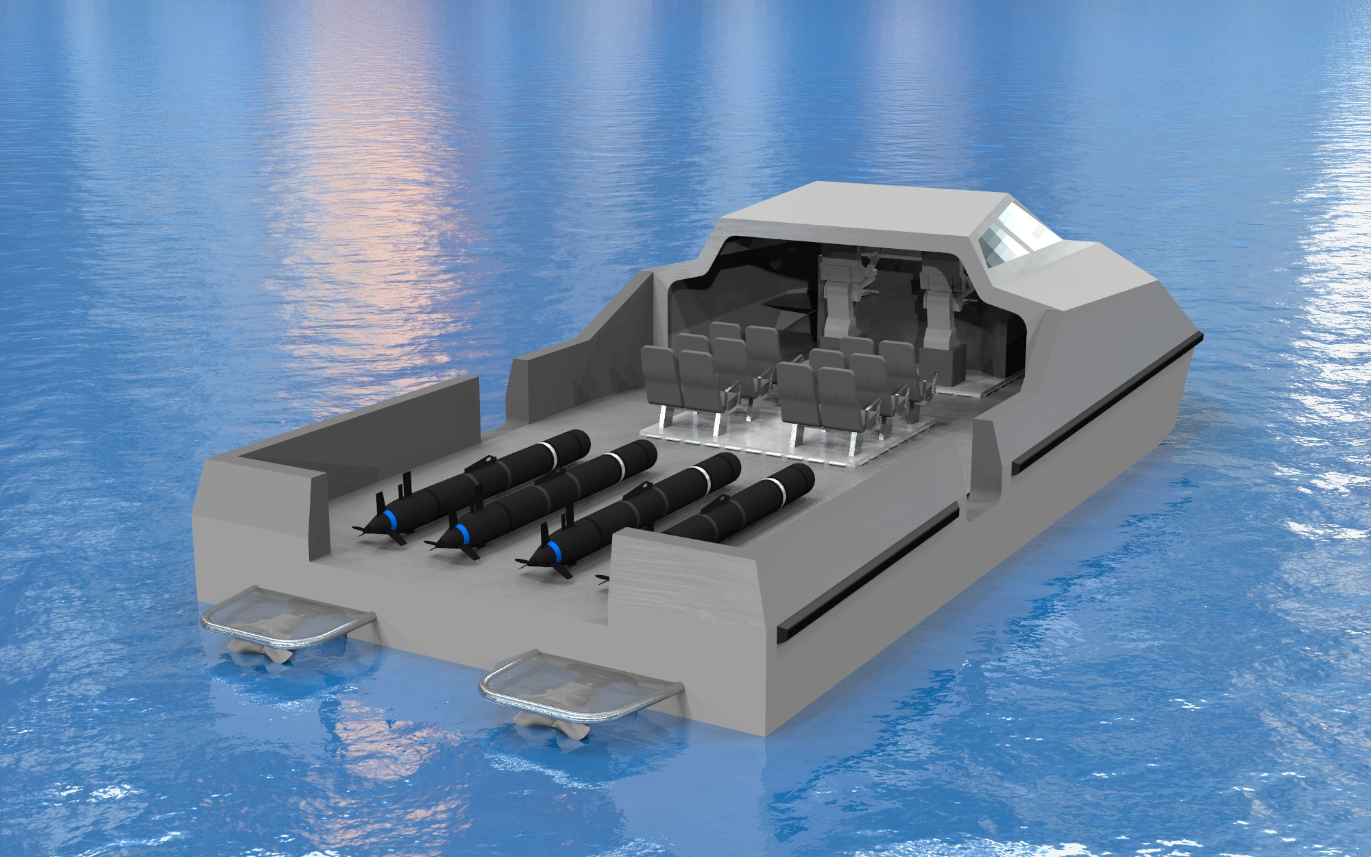 Mshipco Introduces The Mistral Usv During Auvsi S Unmanned