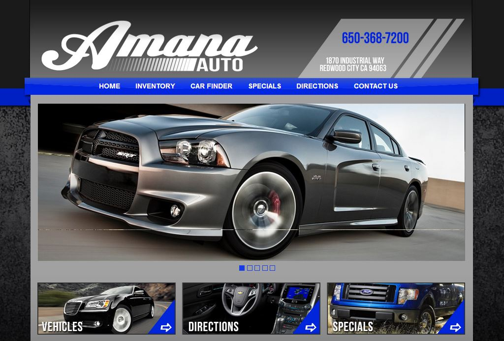Car Dealerships In Sioux Falls Sd >> Carsforsale.com® Announces Inventory Website Developed for Amana Auto in Redwood City, CA