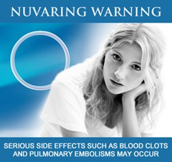 Free NuvaRing lawsuit evaluations for those who have sustained serious injuries, such as blood clots and pulmonary embolisms, while using NuvaRing. To discuss a NuvaRing lawsuit claim, contact us at 1-800-403-6191 or visit www.FightForVictims.com