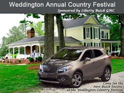 See the New 2014 Buick Encore at the Weddington NC Festival