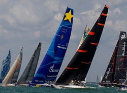 Esimit Europa 2 at Cowes Week 2013