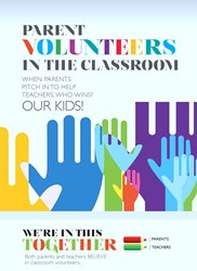 Parent Volunteers in the Classroom