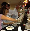 Judges dig in to Top 20 recipes ABPSC 2013