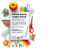 School Supply Drive Information