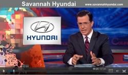Stephen Colbert sponsor Savannah Hyundai