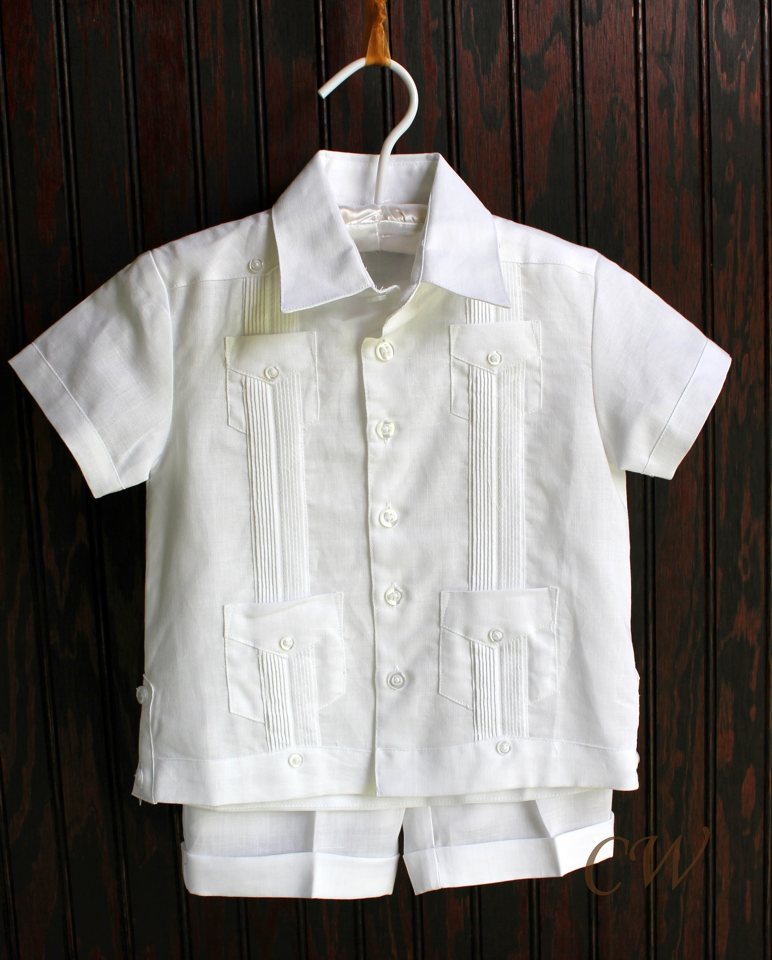 guayaberas for kids are now available to online consumers