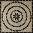 Tesoro 24X24 square polished medallion from CORFU - DRICOFMED