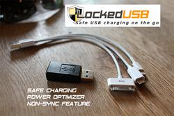 www.LockedUSB.com USB Charger Firewall