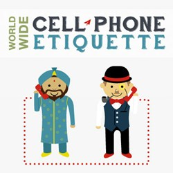 RepairLabs Infographic on Common Cell Phone Etiquette
