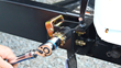Lippert Components, Inc. (LCI™) introduces StrapTek™, an innovative new weight distribution product that employs a ratchet winch and heavy-duty polyester straps instead of traditional chains and snap-up brackets.