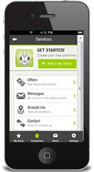 SAMY is the award-winning, patent-pending direct mobile marketing and engagement network.