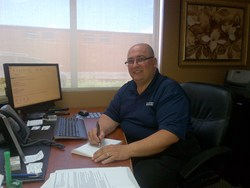 Nadio Zacchigna gets down to business as Trailer Wizards new Fleet and Operations Manager, Québec Region.